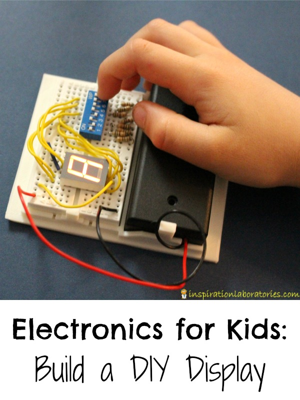 Electronics for Kids: DIY Display | Inspiration Laboratories