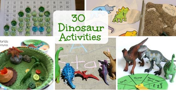 30 dinosaur activities for kids inspiration laboratories. Black Bedroom Furniture Sets. Home Design Ideas