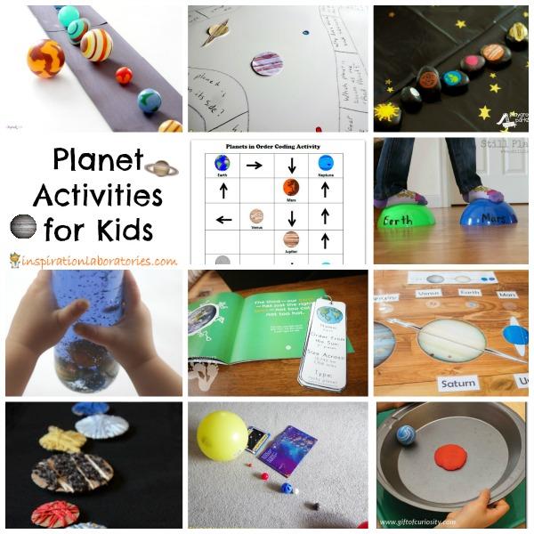 Planet Activities for Kids | Inspiration Laboratories