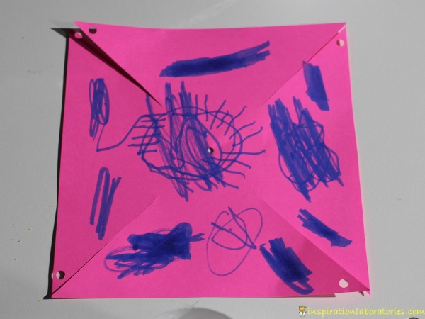 use the pinwheel template to create your windmill inspiration