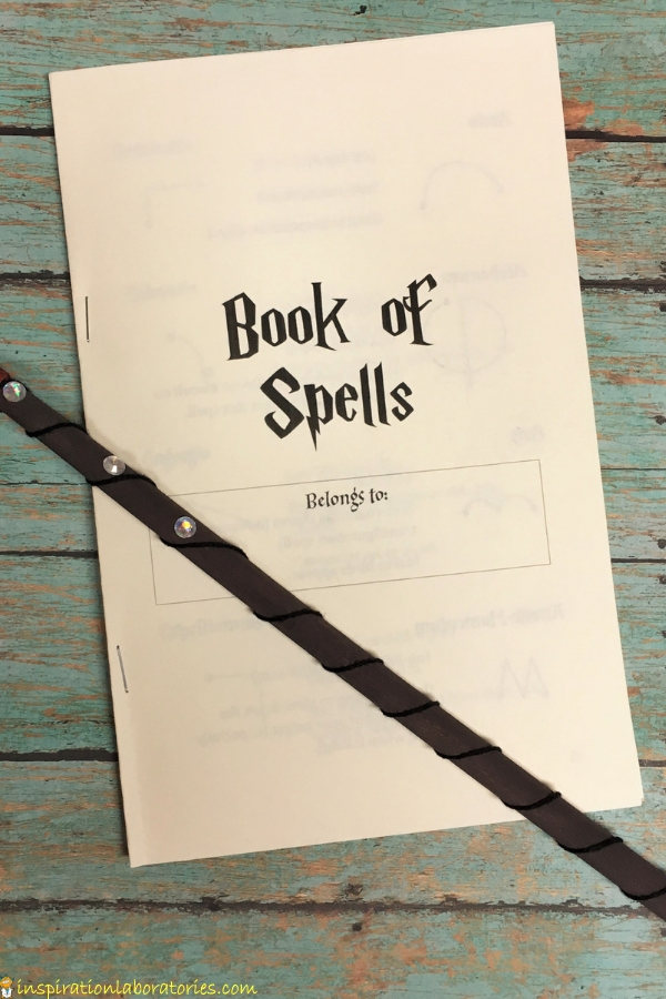photograph relating to Printable Harry Potter Spells titled Do-it-yourself Harry Potter E book of Spells Determination Laboratories