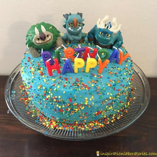 Troll Hunters birthday cake