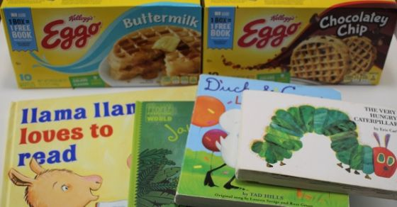 Earn Free Books with Kellogg's Feeding Reading Program | Inspiration Laboratories